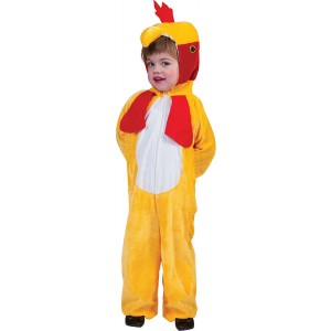 Boerderij Kip - Carnaval Verkleedkleding - Kostuum Kind