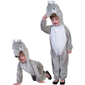 Nijlpaard - Carnavals Verkleedkleding - Kostuum Kind