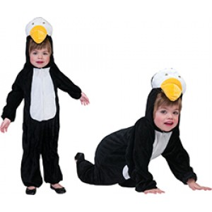 Penguin Onesie - Caranaval Verkleedkleding - Kostuum Kind