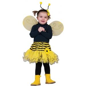 Baby Bij Jurk - Carnaval Verkleedkleding - Kostuum Baby