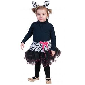 Kleine Zebra - Carnaval Verkleedkleding - Kostuum Baby