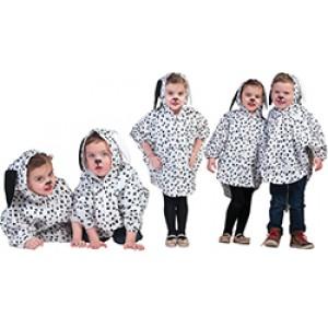 Dalmatier Cape  Disney Carnaval Verkleedkleding Kostuum Kind