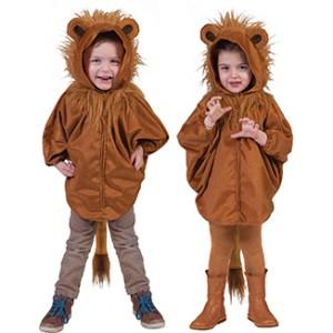 Leeuw Poncho - Carnaval Verkleedkleding - Kostuum Baby