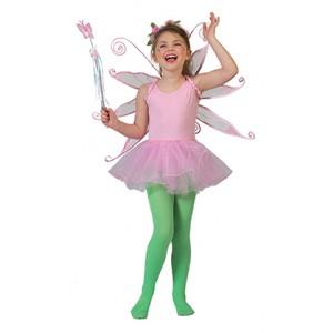 Roze Ballerina - Carnaval Verkleedkleding - Kostuum Kind