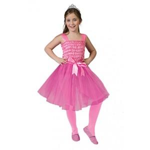 Roze Prinses - Jurk  Sprookjes Verkleedkleding Kostuum Kind