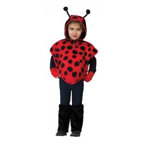 Lieverheersbeestje Cape - Verkleedkleding - Kostuum Kind