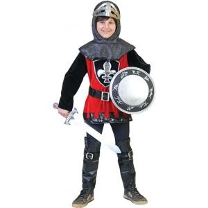 Ridder Zilverblad- Middeleeuwen Verkleedkleding Kostuum Kind