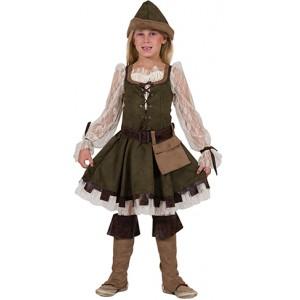 Lady Robin Hood - Middeleeuwen Verkleedkleding Kostuum Kind