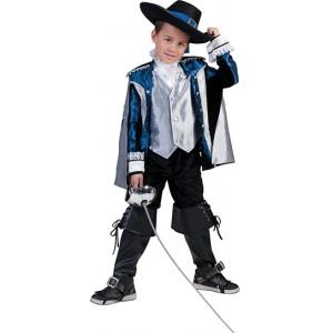 Luxe Musketier Renaissance Verkleedkleding - Kostuum Kind