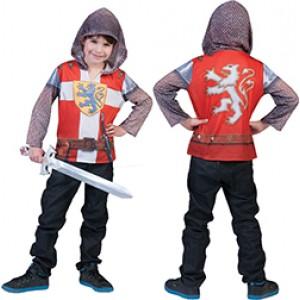 Ridder 3D Shirt - Middeleeuwen Verkleedkleding  Kostuum Kind