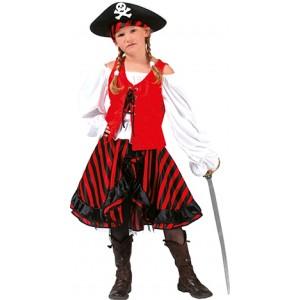 Kapitein Jacky - Piraten Verkleedkleding - Kostuum Kind