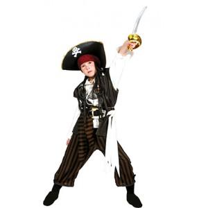 Kapitein Bruinbaard - Piraten Verkleedkleding - Kostuum Kind