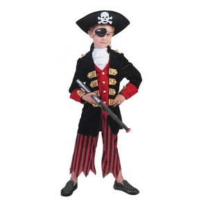 Kapitein Jack - Piraten Verkleedkleding - Kostuum Kind