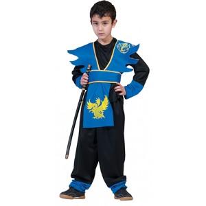 Blauwe Ninja - Verkleedkleding Japan - Kostuum Kinderen