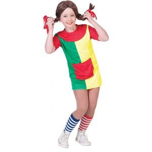 Pipa Jurk - Carnaval Verkleedkleding - Kostuum Kind