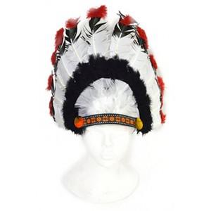 Luxe Indianentooi Zwart- Carnaval Verkleedkleding