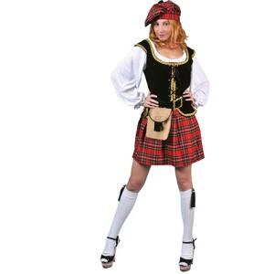 Schotse vrouw - Verkleedkleding Schotland - Kostuum
