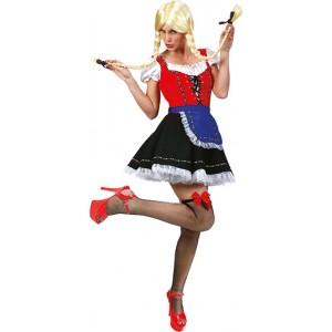 Brauhaus Babe  - Verkleedkleding Oktoberfest - Kostuum Vrouw