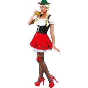 Biergarten Babe  - Verkleedkleding Oktoberfest Kostuum Vrouw
