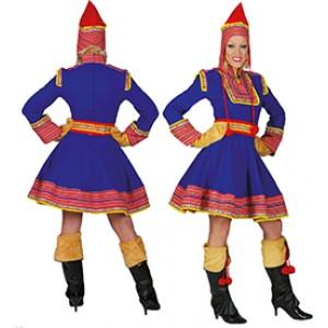 Saami Lapland - Landen Verkleedkleding  - Kostuum Vrouw