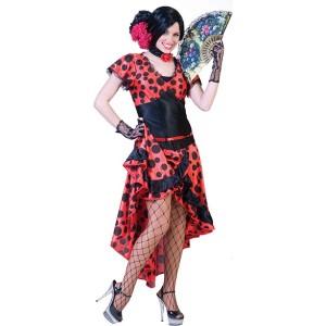 Senorita Evita - Spaanse Verkleedkleding - Kostuum Vrouw
