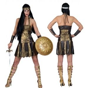 Axia de Romeinse Krijgster - Romeinen - Kostuum Vrouw