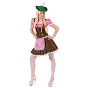 Sexy Tiroler Rosa -Verkleedkleding Oktoberfest - Kostuum vrouw
