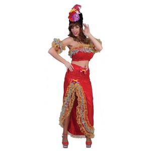 Braziliaanse Jurk - Verkleedkleding Carnaval - Kostuum Vrouw