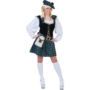 Schotse Connora - Verkleedkleding Schotland - Kostuum Vrouw