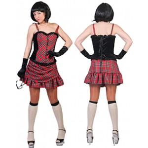 Sexy Schotse - Verkleedkleding Schotland - Kostuum Vrouw