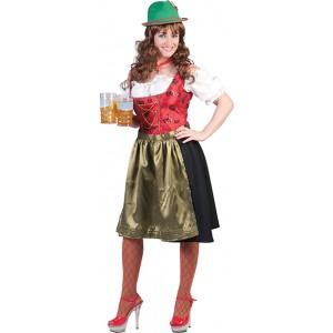 Tiroler Elly - VerkleedkledingOktoberfest - Kostuum Vrouw