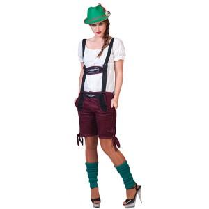 Tiroler Emma Lederhose - Oktoberfest - Kostuum Vrouw
