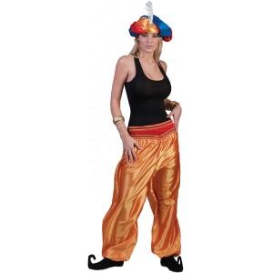Jasmijn Broek Goud - Arabische verkleedkleding - Kostuum