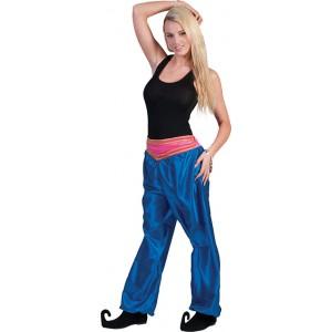 Jasmijn Broek Blauw - Arabische verkleedkleding - Kostuum