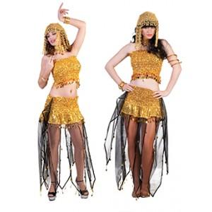 Buikdanseres - Verkleedkleding Arabisch - Kostuum Vrouw