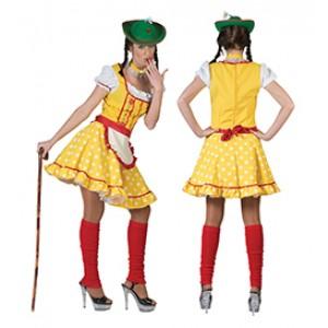 Tiroler Karola - Verkleedkleding Oktoberfest - Kostuum Vrouw