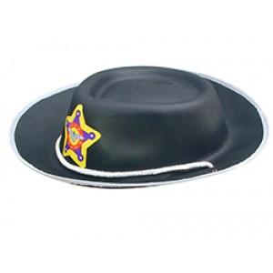 Kind Sheriff Cowboy Hoed - Carnaval Verkleedkleding