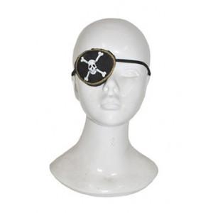 Zwart oogkapje - Piraten accessoires