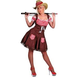 Sexy wild west girl - Cowboy verkleedkleding - Kostuum vrouw