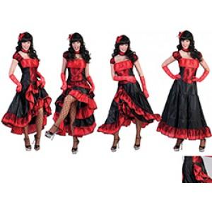 Saloon girl  - Cowboy verkleedkleding - Kostuum vrouw