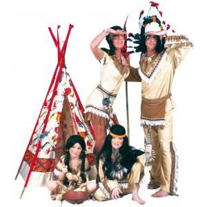 Indiaan Sexy Sioux  - Indianen verkleedkleding kostuum vrouw