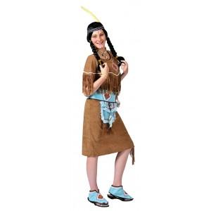 Indiaan Anila - Indianen verkleedkleding - Kostuum vrouw
