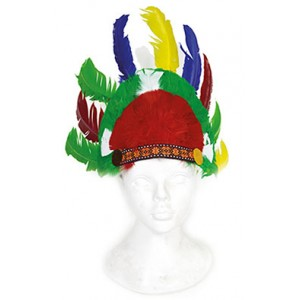 Luxe Indianentooi Groen - Carnaval Verkleedkleding