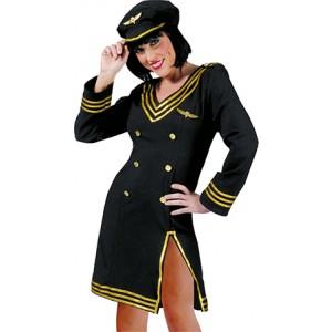 Vliegtuig Piloot - Verkleedkleding Bachelor - Kostuum Vrouw