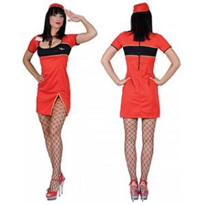 Stewardess Tess - Verkleedkleding - Kostuum vrouw