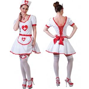 Sexy Verpleegster - Zusters verkleedkleding - Kostuum Vrouw