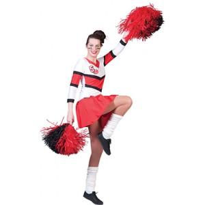 Cheerleader - Cheerleading pak - kostuum vrouw