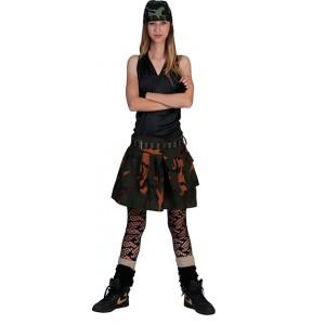 Soldaat girl - militair kostuum vrouw