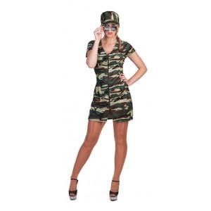 Sexy soldaat - militair kostuum vrouw