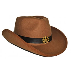 Klassieke Cowboy Hoed - Carnaval Verkleedkleding